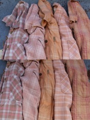 """""""Well-Worn"""" Flannel - Large"""