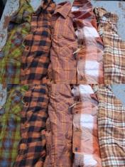 """Stressed"" Flannel- Medium"